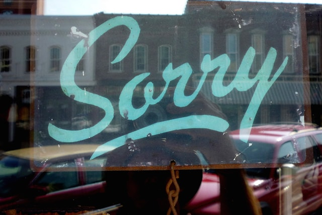 Bad Yelp Reviews Sorry