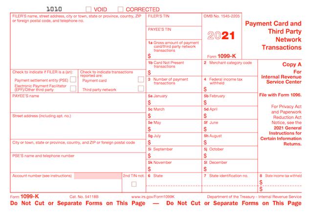 1099-k form