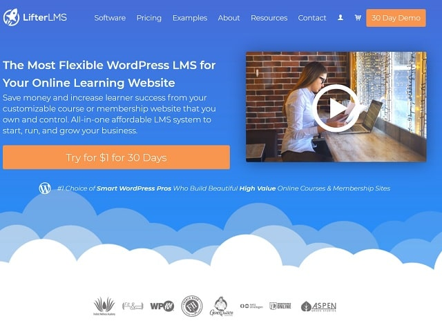 WordPress Plugins For Selling Digital Courses LifterLMS