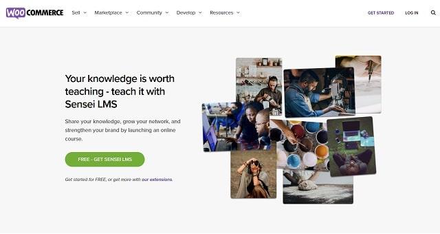 WordPress Plugins For Selling Digital Courses Sensei