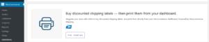 WooCommerce standard shipping setup USPS
