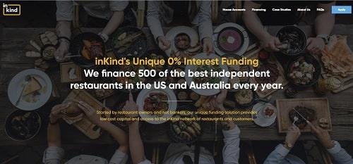 InKind homepage