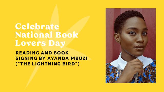 GoDaddy Studio template celebrate national book lovers day Ayanda Mbuzi