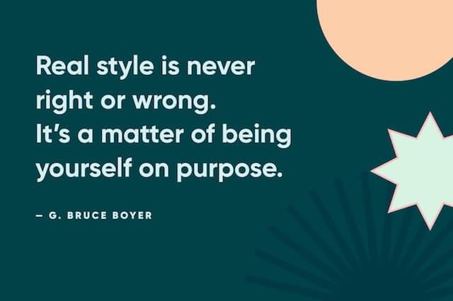 Bruce Boyer Quote