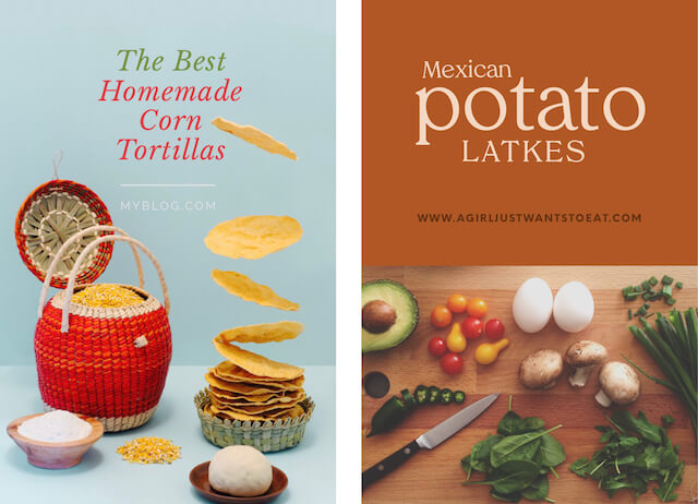 GoDaddy Studio templates used for Mexican Heritage month