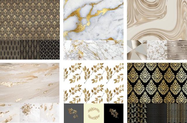 Luxury graphics in GoDaddy Studio