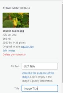 Image HTML Attributes