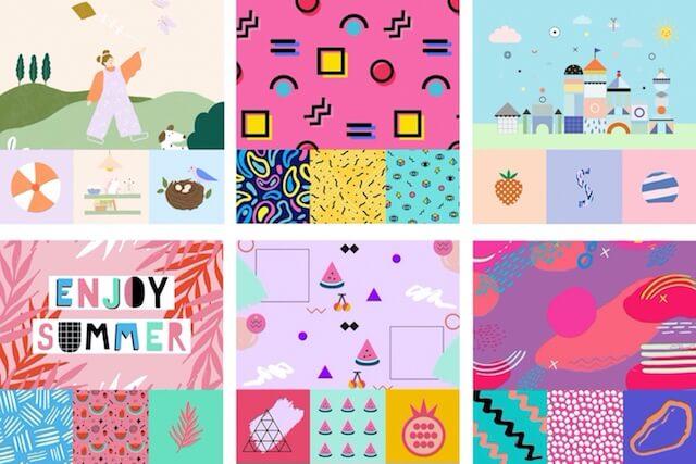 Playful graphics in GoDaddy Studio