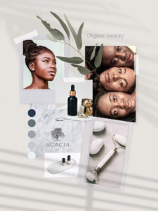 Example of a vision board for an acacia example