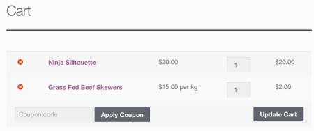 unit price cart