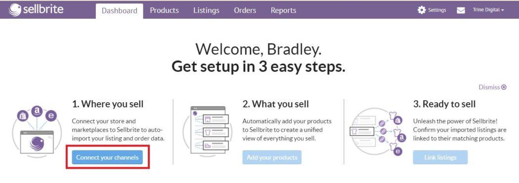 Connect Amazon WooCommerce Setup