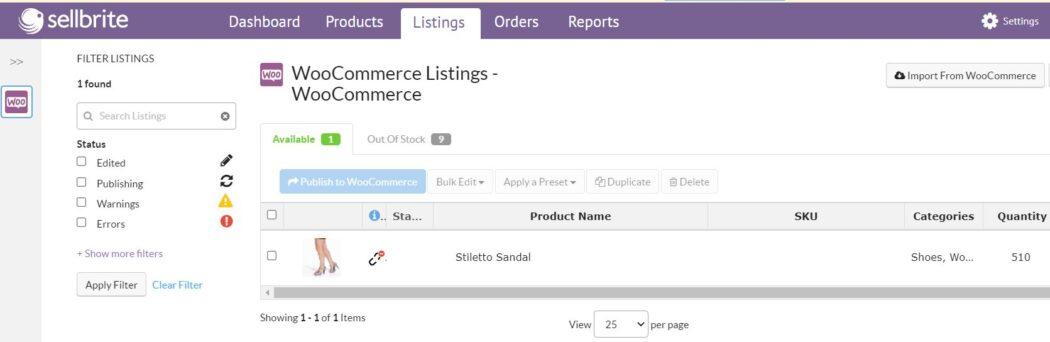 Connect Amazon WooCommerce Listings