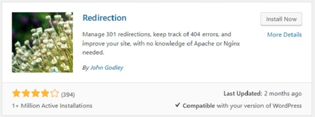 301 Redirects WordPress Redirection