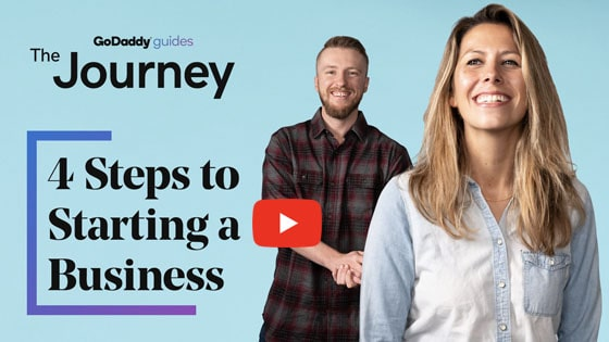 4 Steps Starting a Business Journey Video
