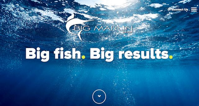 Big Marlin Group Website