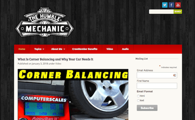 Business Domain Names The Humble Mechanic