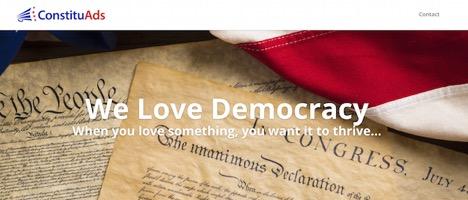 ConstituAds Homepage