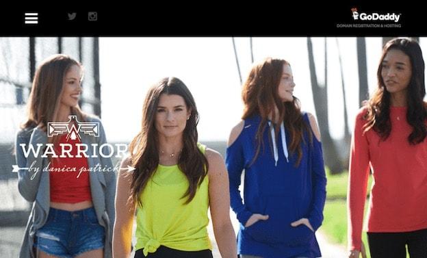 Danica Patrick Warrior Website