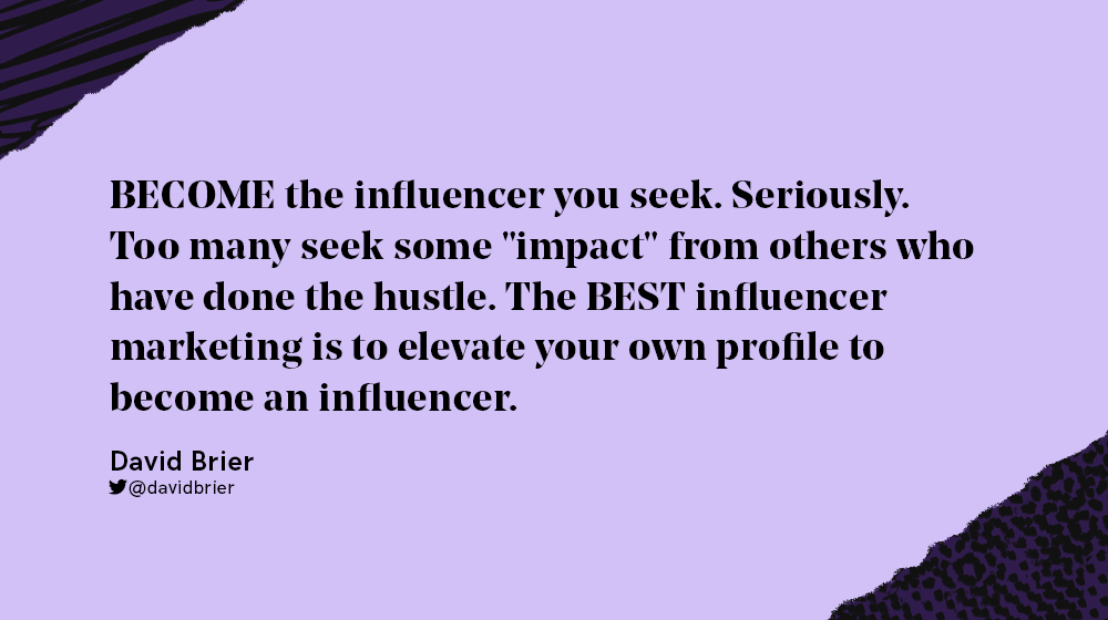 become the influencer