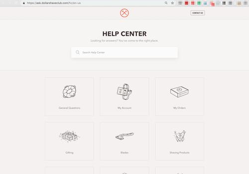 FAQ Page Dollar Shave Club Help Center