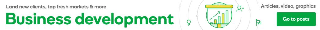 Business development month