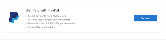 screenshot of Online Appointments PayPal integration