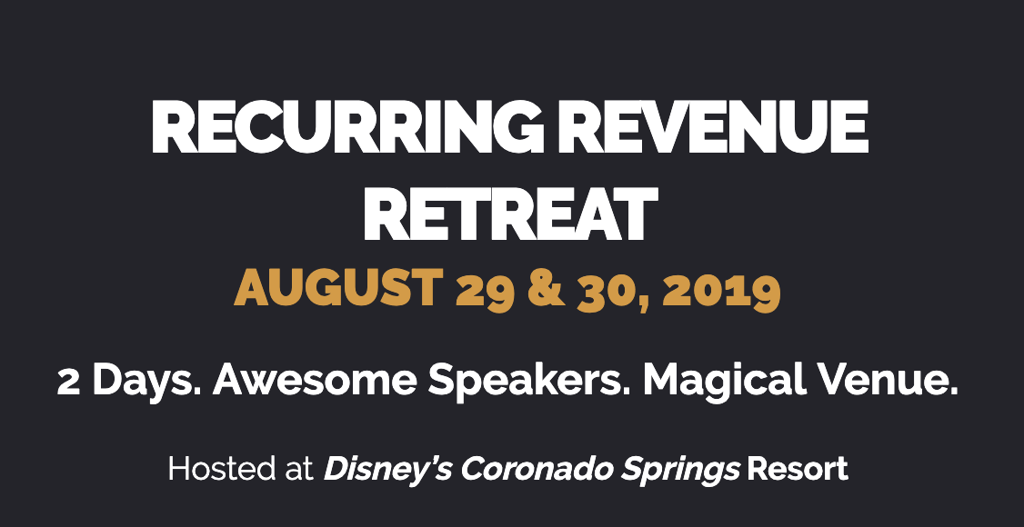 Recurring Revenue Retreat