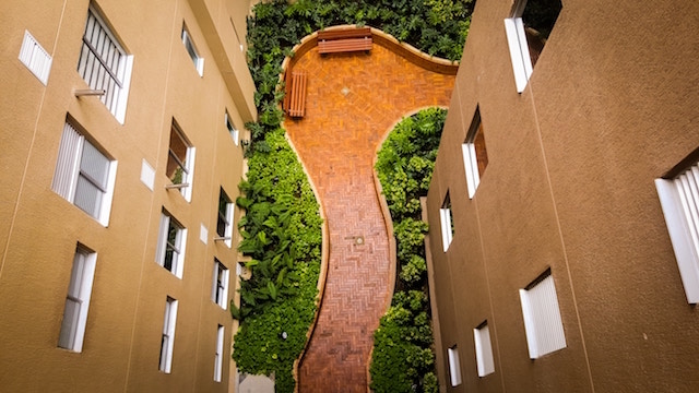 Starting a Landscaping Business Courtyard
