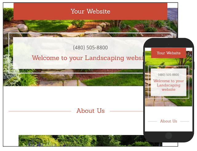 Starting a Landscaping Business GoCentral Template