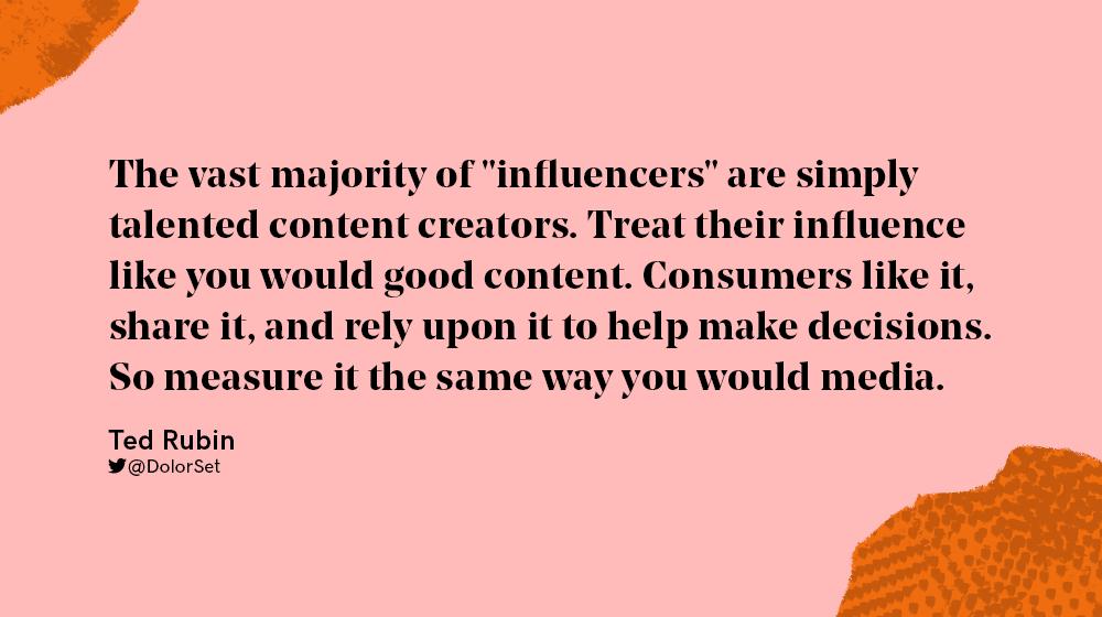 social media influencer are great content creators