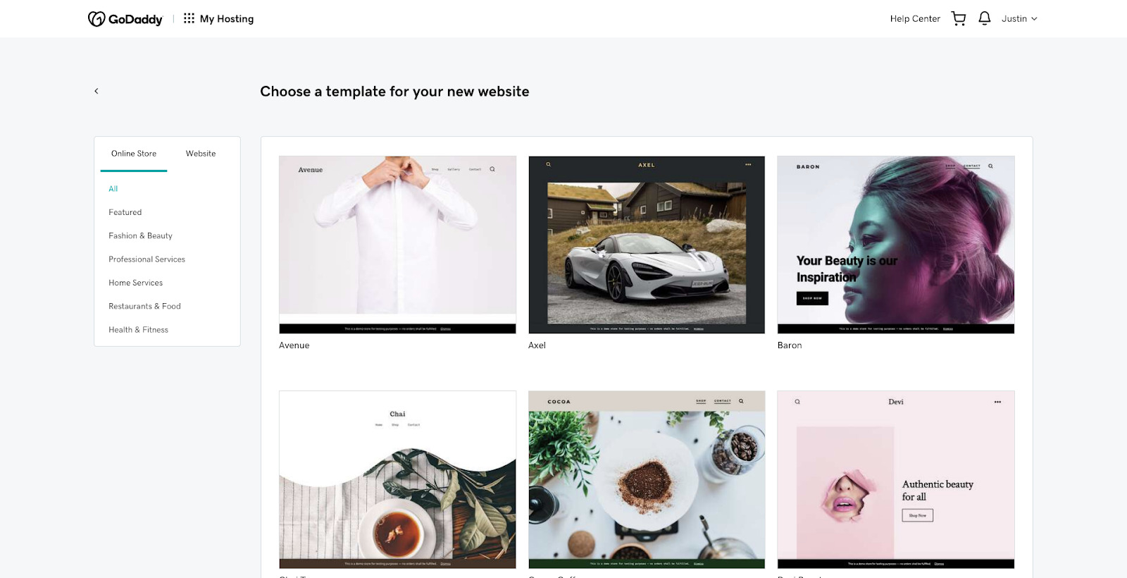 mwp Template Gallery