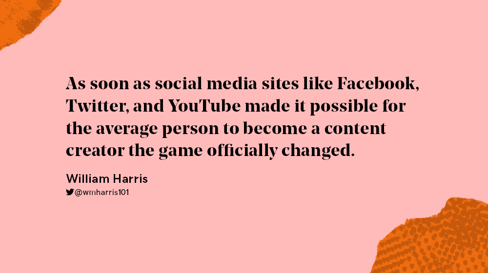 Quote about influencer marketing