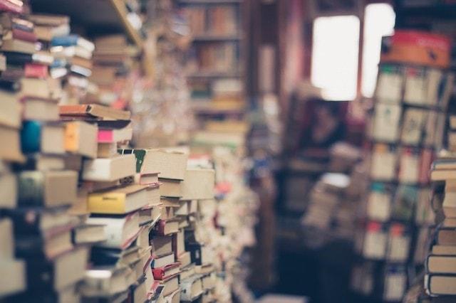 Abandoned Shopper Bookstore