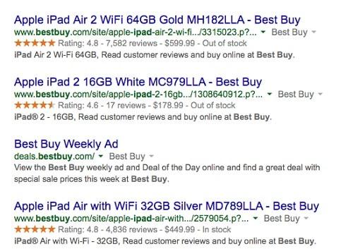 Aggiungi schema alla ricerca di WordPress