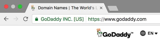 URL Display After Adding SSL HTTPS Lock