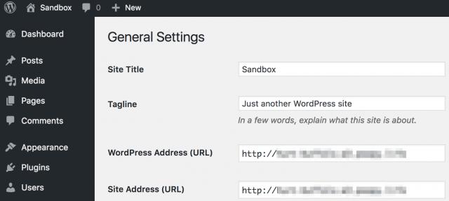 Adding SSL HTTPS Settings Inside the WordPress Admin Panel
