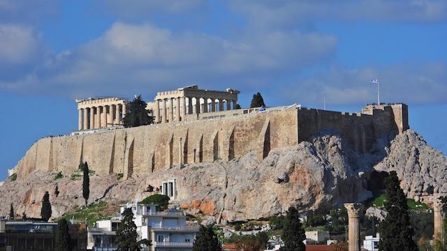Alison Larson Parthenon Athens Greece