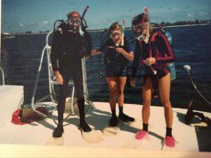 Alison Larson Scuba Diving