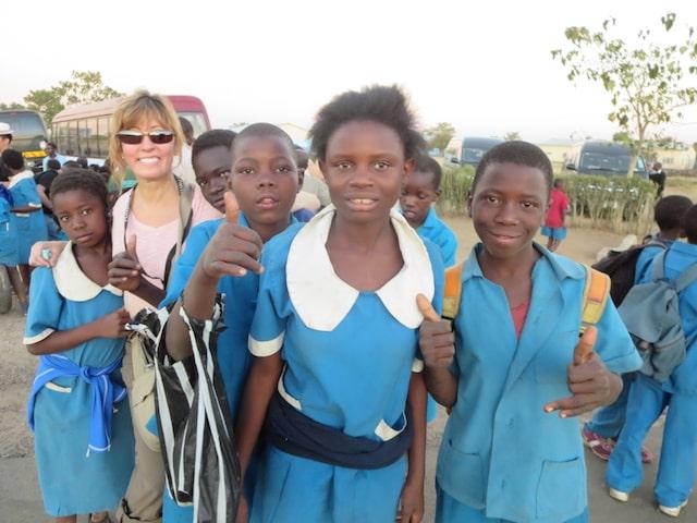 Alison Larson Volunteer Trip in Zambia