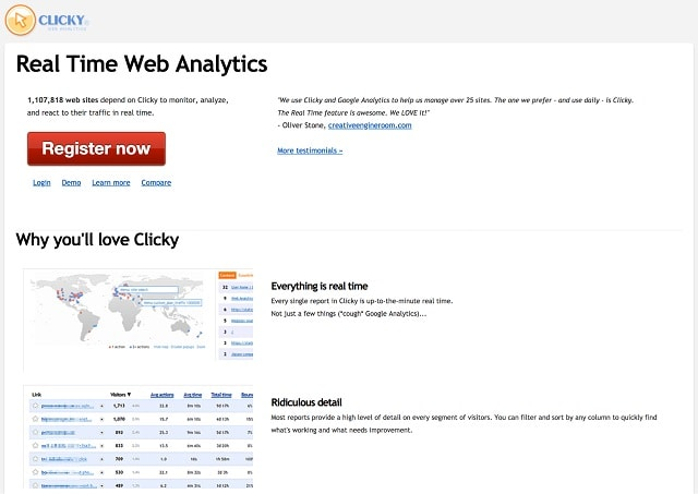 Alternatives To Google Analytics Real Time Web