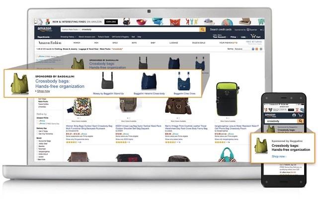 Amazon Advertising Display Ad