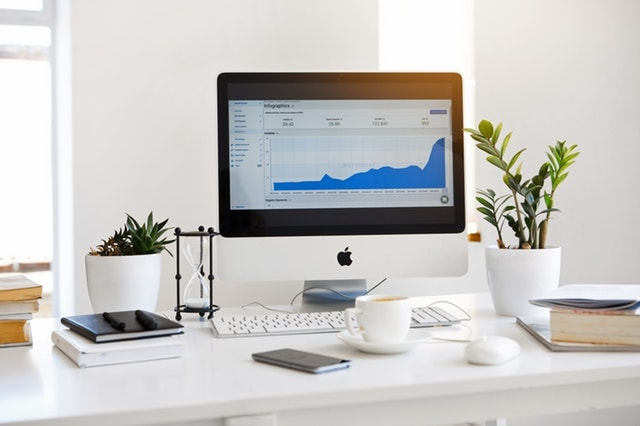 Analytics on Desktop Computer