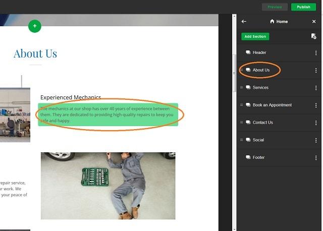 Automotive Website Edit