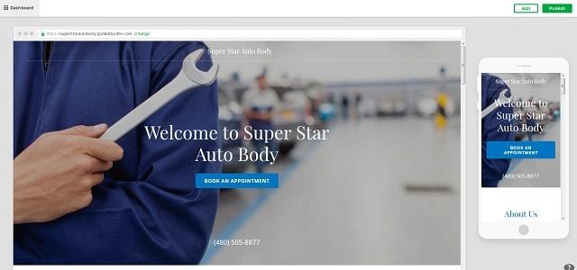 Automotive Website Preview