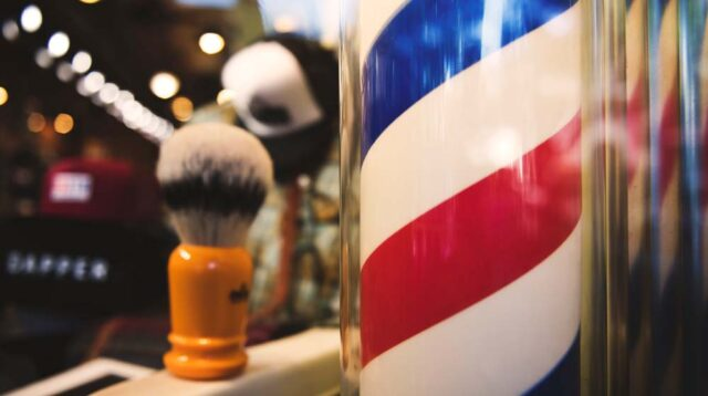 Barber Shop Pole Dad Gifts