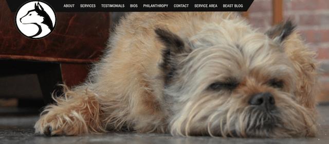 Beast Masters Homepage