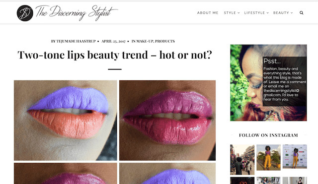 Beauty Trends The Discerning Stylist