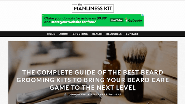 Beauty Trends The Manliness Kit