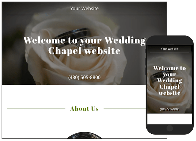 Become a Wedding Officiant GoCentral Template