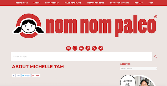 Best Cooking Blogs Nom Nom Paleo